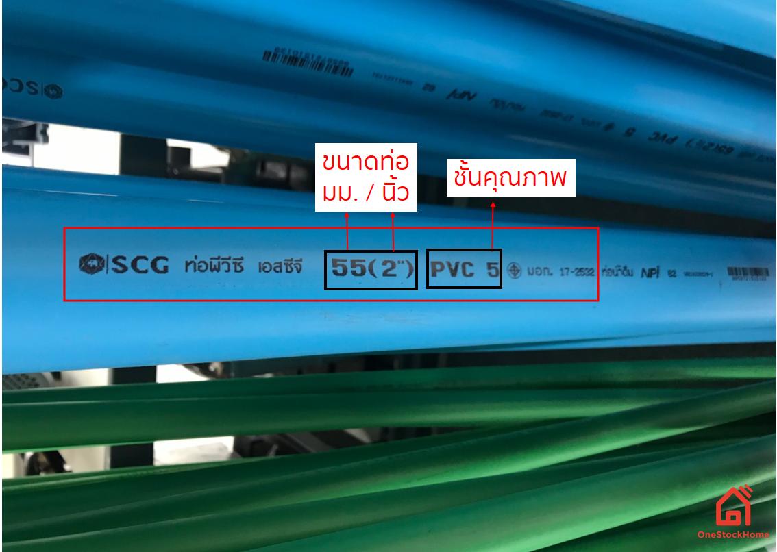 วิธีการเลือกขนาดท่อพีวีซี PVC มิลลิเมตร นิ้ว ชั้นคุณภาพ