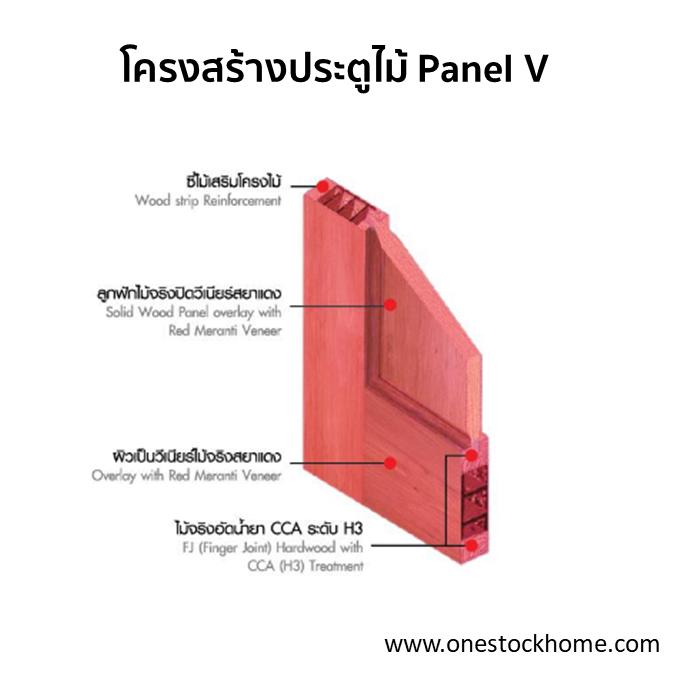 ประตูไม้จริง: ประตูไม้สยาแดง สำหรับใช้ภายนอก ประตูไม้สยาแดง Leowood เหมาะสำหรับใช้เป็นประตูภายนอก มีคุณสมบัติแข็งแรง ทนทานต่อทุกสภาพอากาศ ไม่โค้งงอหรือหักบิ่นง่าย ด้วยโครงสร้างไม้จริงรอบบาน FJL สามารถติดตั้งได้ง่าย ทำสีได้ตามต้องการ สามารถแบ่งออก เป็น 2 รุ่น ได้แก่ Leo Panel V